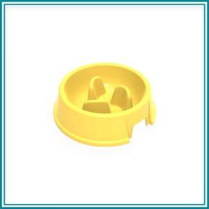 Činija za kućne ljubimce, kružna SLOW FEEDER, 1.5L